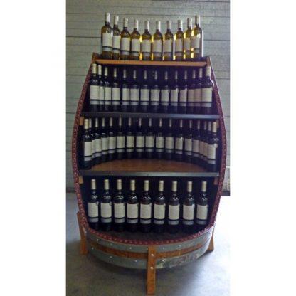 Presentoir a bouteilles